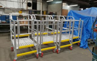 Mobile Aluminium Access Platforms for the Rail Industry