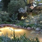 Metal Architectural Garden Art Sculpture Section Rolling Christian Jenkins Landscape Melbourne International Flower And Garden Show