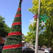 Geelong Christmas street ornaments