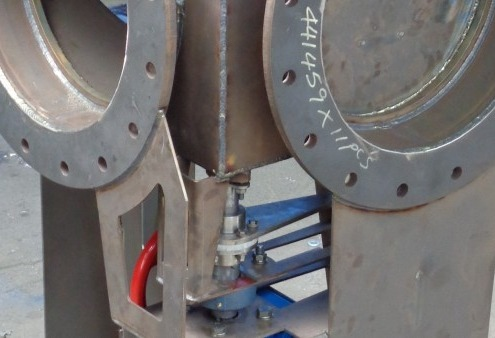 High Temperature gas diverter valve 3 way