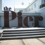 Architectural Sign Corten Geelong The Pier