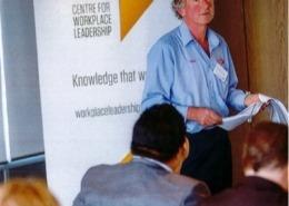 Workplace leadership Ross George